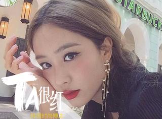 Ta很红 | 神似NANA,拥有超模身材,这个韩国时尚博主就是长得美还比你会穿!