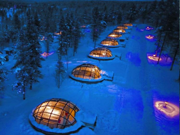 这些酒店你可以拥抱星空入眠!