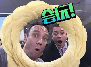 把薯片堆成圈圈,这下Twitter网友玩疯了