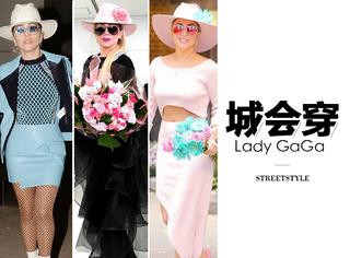 为宣传新专辑,Lady GaGa玩儿起了帽子戏法,成出街必备单品!