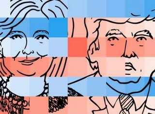 【表情包】美国大选,友谊的小船真的只能一人划了