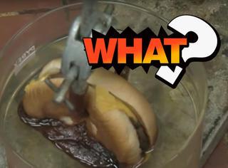 吃到胃里的汉堡都变黑了?这个实验也许会给你启发