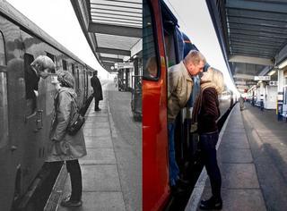 摄影师找到20年前照片里的路人,重新拍了组照片