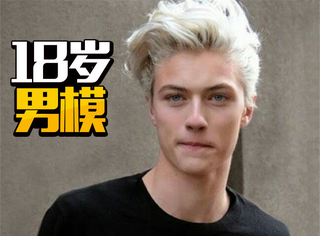 Lucky Blue Smith:189cm的天使男模,一家人都颜值爆表