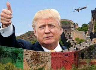 川普之前说要在美国修长城,没想到是玩真的