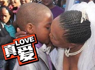 9岁非洲小男生迎娶比他大53岁的女人,背后原因竟然是…