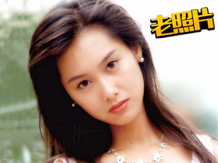 【老照片】紫霞仙子只服朱茵,年轻的时候好美
