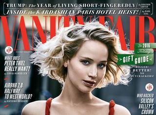 Jennifer Lawrence拍时装片 大表姐自带好莱坞特效