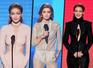 """""""镂空、透视,我不停歇"""" Gigi Hadid 6套Look展现花式露肉"""