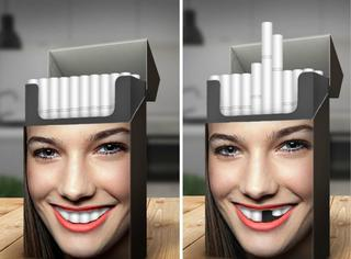 绝了,30张禁烟广告你真应该看看