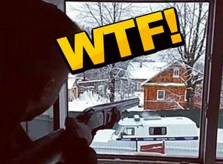 战斗民族少年情侣直播与警察枪战!最后竟然双双身亡!