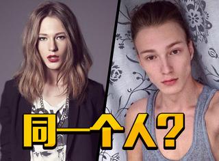 俄罗斯21岁男模:长发时比女人还美,短发时又帅过无数男人