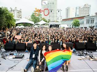 简单生活节十周年不仅免费入场,橘子菌还给同性婚姻平权投了一票