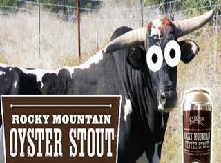 用牛睾丸酿制的洛基山黑啤,喝完包你挺一整夜