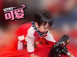 林志颖小儿子抓周抓到方向盘,娱乐圈星二代都抓了些什么...