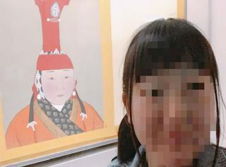 """大饼脸日妞逛故宫意外撞见""""前前前世"""",哇哈哈实在不要太像"""