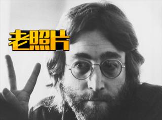 【老照片】约翰·温斯顿·列侬:一个时代的印记