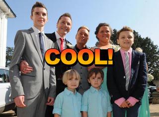 这对同性恋老爸有5个孩子,现在还想要个3胞胎