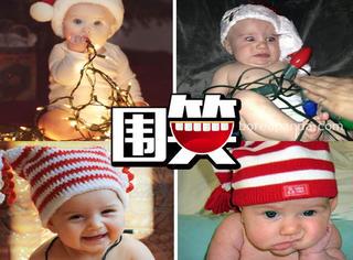 想给宝宝拍张萌萌的圣诞照,简直比登天还难