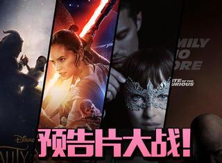 《速激8》灭了《美女野兽》预告记录!背后上演男女拉锯战!