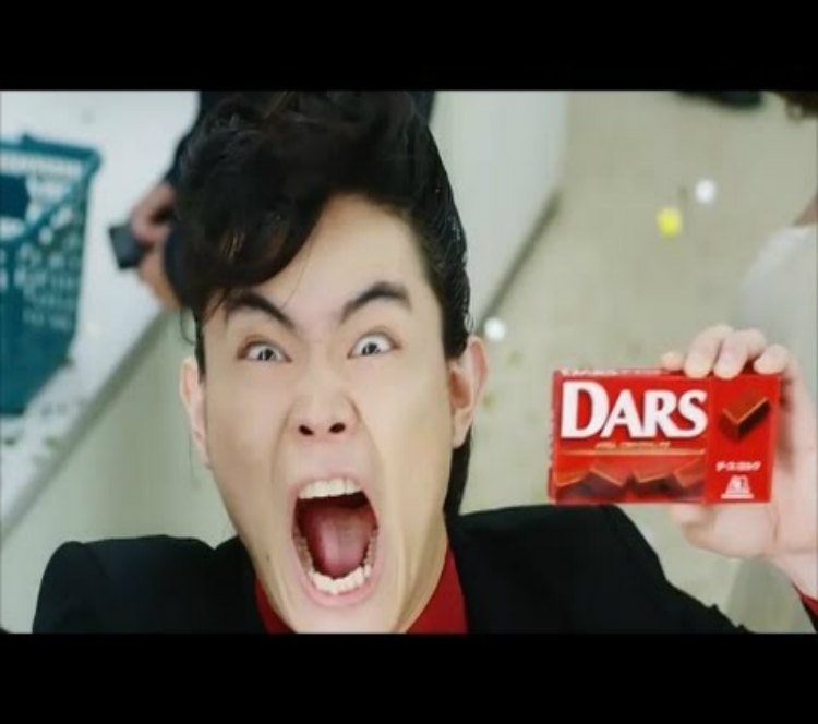 happy DARS day to you!!!Suda出演巧克力广告拍摄超卖力……