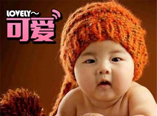 安吉嬰兒照曝光,肉嘟嘟的小臉看了就好想捏!