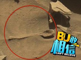 NASA火星影像上发现超清晰大勺子,真的有生命在上面?