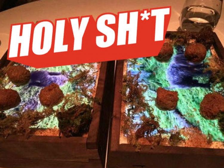 【Holy Shit】这家用iPad装食物的米其林三星餐厅真是壕到窒息!