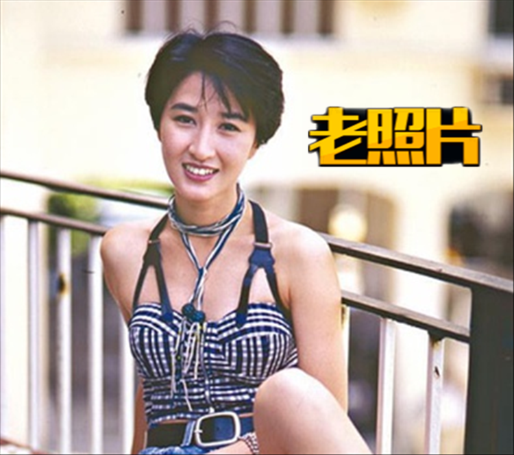 """【老照片】关咏荷:逆生长的""""古装港剧一姐"""""""