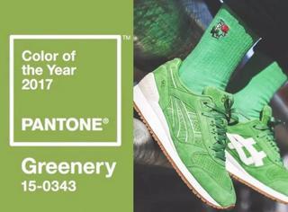 """2017年没有一双""""草绿色""""的球鞋,敢叫自己潮人?"""