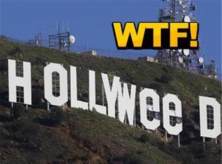 瞎!好莱坞标志遭恶搞篡改,HOLLYWOOD变大麻坞!