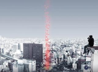 日本墓地超概念设计,死后骨灰装在气球里飘上天?!