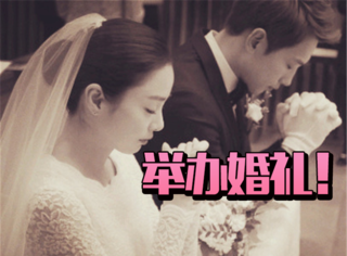 Rain、金泰熙婚礼进行时 | 新郎新娘祈祷图曝光,hin甜蜜