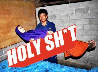 "【Holy Shit】印尼""竹竿女""全身无法弯曲僵硬笔直到惊悚!"