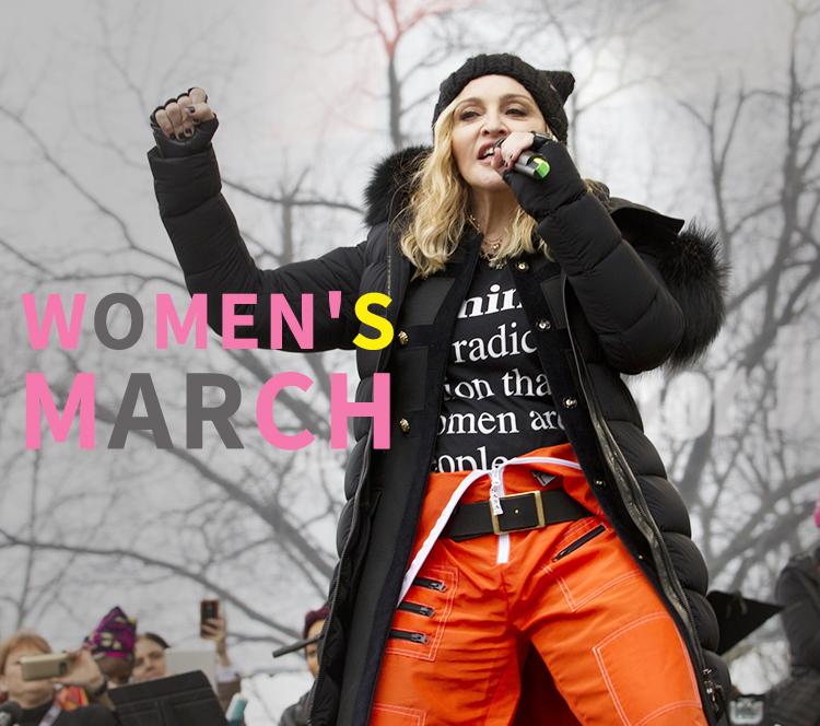 美K套秋裤、麦当娜穿囚犯裤,这场女权运动她们是来真的!