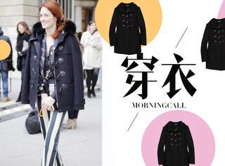 【穿衣MorningCall】连贝小七都爱的学院风外套,真的不考虑来一件?