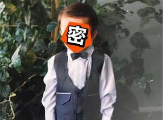 迪玛希童年照曝光,进口小哥哥小时候就这么帅!
