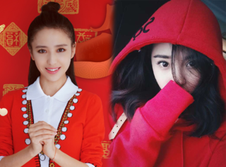 正月拜年怎么穿?看杨幂、佟丽娅独宠的这件红装能不能吸引你!