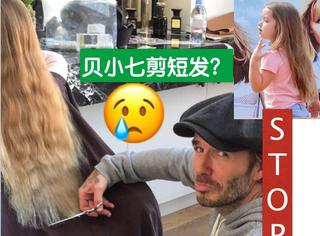 NO,贝小七的老爸要帮她剪掉公主长发!这很有爱,但请住手啊!