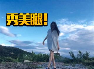 过年明星们都忙着晒照片,不过王祖贤这腿绝对赢了!
