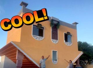 65岁建筑师造出倒置别墅,厉害了我的哥