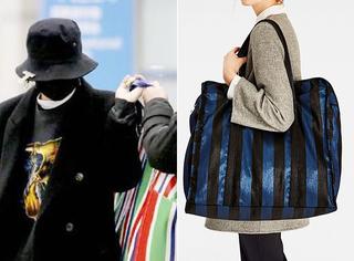 """权志龙才背上的Balenciaga万元编织袋!Zara就已经有""""仿款""""啦?"""