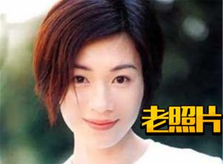 【老照片】张可颐:永远知性的短发女神