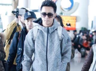 韩庚穿运动套装real有活力!这样阳光有型的他,你见过吗?