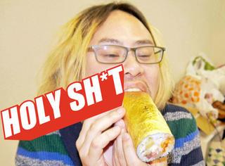 【Holy Shit】寿司外面包金箔!我勒个去!谁家寿司这么豪!