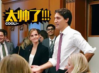 加拿大总理的颜值真不是盖的,走哪撩哪!