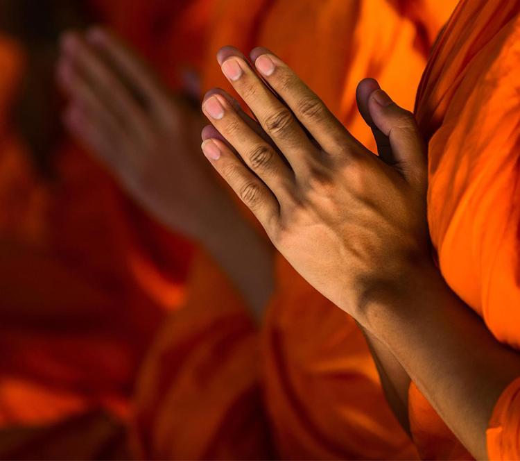 我到缅甸寺庙里当了一周和尚