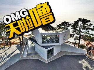 观海咖啡厅!这家韩国咖啡厅被多少人误认为是别墅!