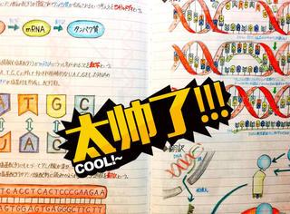 来感受下什么叫学霸的笔记,这个日本帅哥绝了