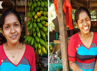 口红有多重要?斯里兰卡街头女人告诉你涂之前之后的不同